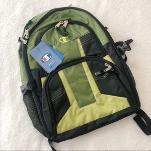 NWT Champion green hiking school backpack